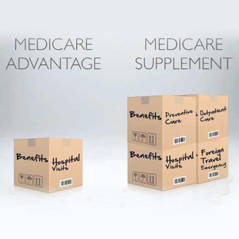 medicare supp vs medicare advantage