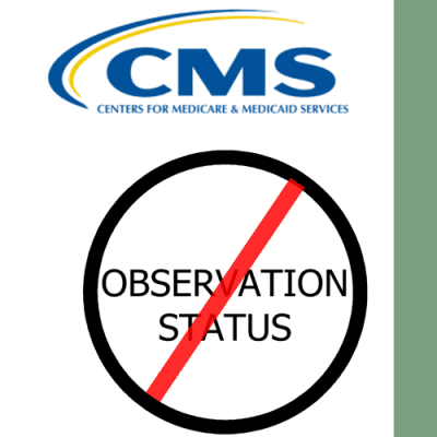 Hospital admission vs observation status