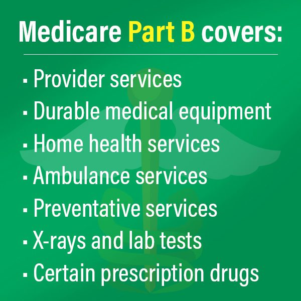 Medicare Part b covers