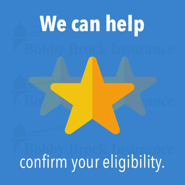 We can help confirm your eligibility