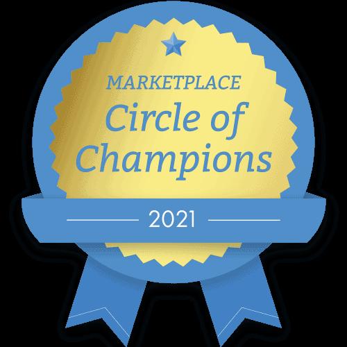 Marketplace Circle of Champions Logo