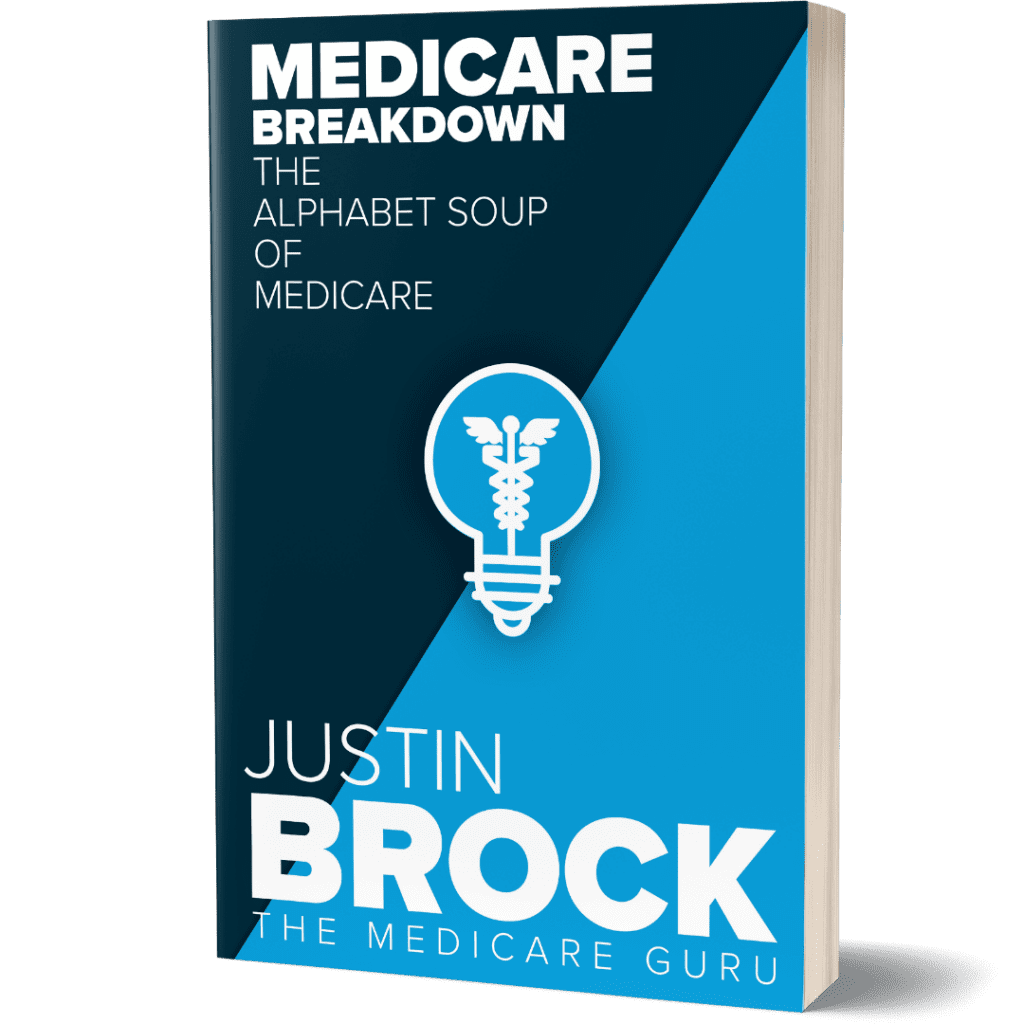 Medicare Breakdown The Alphabet Soup of Medicare by Author Justin Brock The Medicare Guru